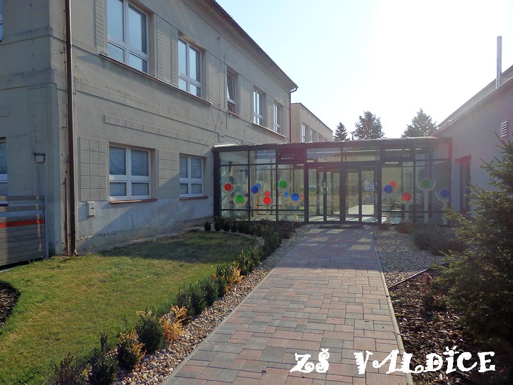Pohled na školu